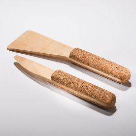 Cork Boy Spatula and Butter Knife